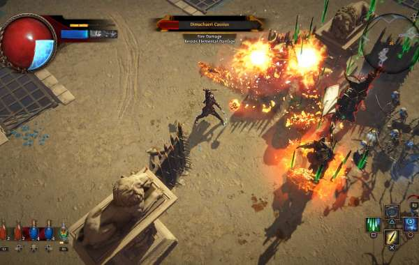 Bargain Path of Exile Items are in abounding banal