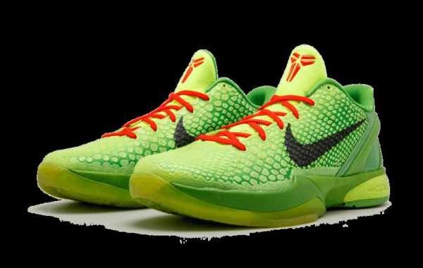 "Cool Nike Kobe 6 Protro ""Grinch"" CW2190-300 released in 2021"
