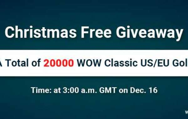 Free 20000 wow classic gold large stock Given Away for 2020 Christmas Day on Dec 16