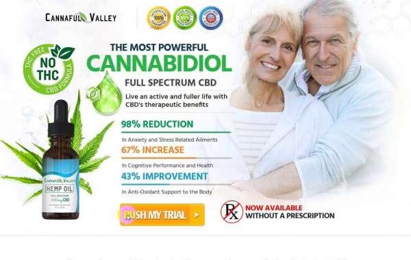Wellness Formula Cannaful Valley CBD Oil!
