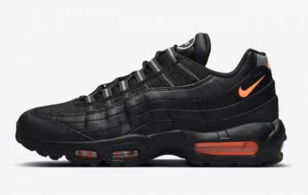 Nike Air Max 95 Black Orange 2021 New Arrival DJ6884-001