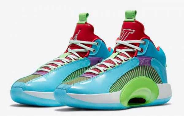 "New Jayson Tatum x Air Jordan 35 ""Women in Power"" DD3667-400 Sport Shoes"
