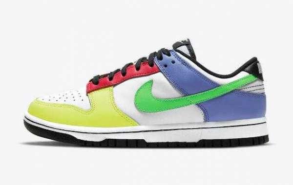 "Multi-Color Nike Dunk Low DD1503-106 ""Green Strike"" Debut this Weekend"