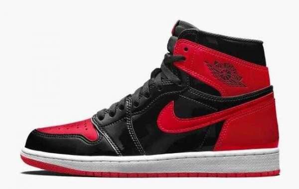 """Air Jordan 1 High OG """"Bred Patent"""" 555088-063 to Arrive on October 2021"""