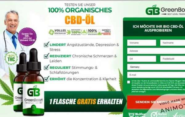 Greenboozt CBD– Reduce Stress, Depression & Pain Naturally! Greenboozt CBD