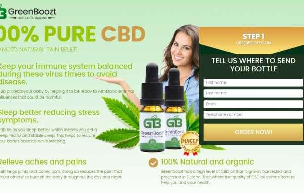 Greenboozt CBD Oil