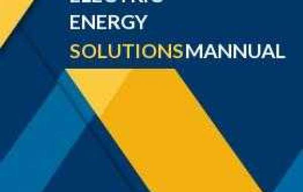 How can students benefit by opting for electric energy an introduction third edition solutions manual services?