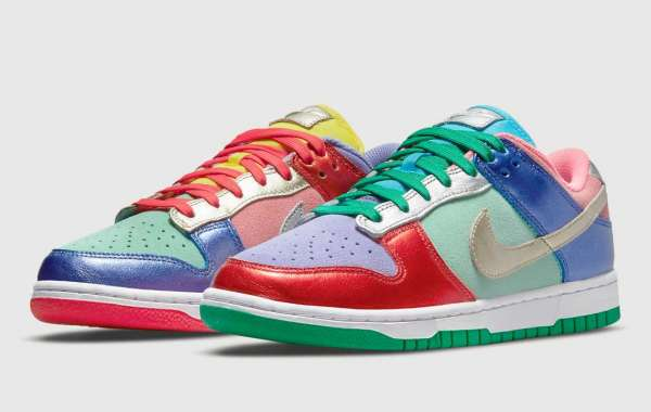 "Official image of Nike Dunk Low ""Sunset Pulse"" DN0855-600"