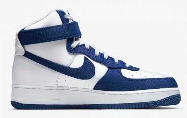 Have you seen the Nike Air Force 1 High EMB Dodgers?