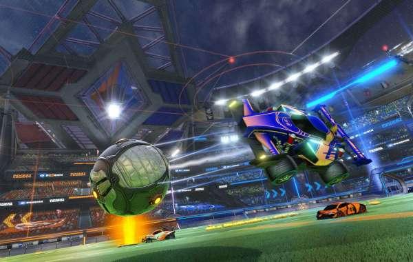 Rocket League stands along Fortnite