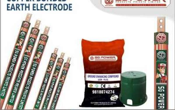 Manufacturer of Copper Bonded Earthing Electrode