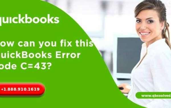 QuickBooks Error Code: C=43 – QBSsolved