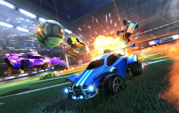 Players can buy item packs in Rocket League