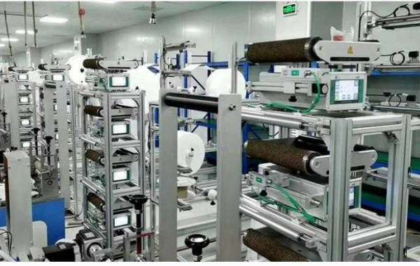 Web Guide System - Improve Efficiency Of Mask Machine