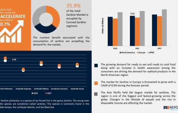 Sardine Market Revenue, Trends, Market Share Analysis, and Forecast to 2027